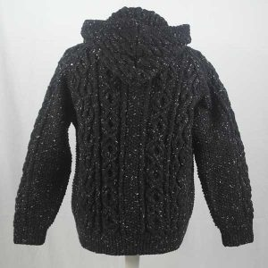 3A Hooded Lumber Cardigan Milford
