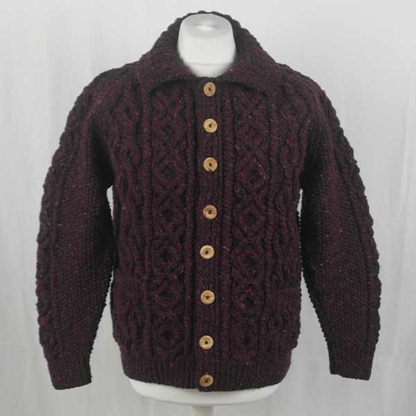 3A Lumber Cardigan 298a Mehroon 7014