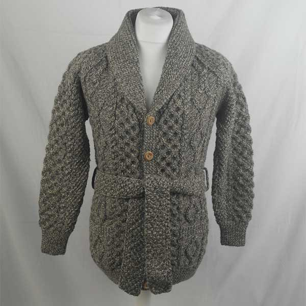6N Long Shawl Collar Cardigan 316a Chesnut N605