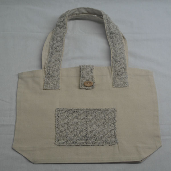 Cable 1 Shoulder Bag 369a Natural