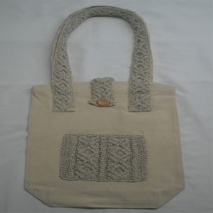 Cable 2 Shoulder Bag 370a Natural