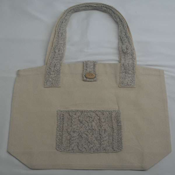 Cable 4 Shoulder Bag 371a Natural