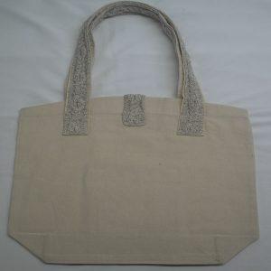 Cable 4 Shoulder Bag 371b Natural