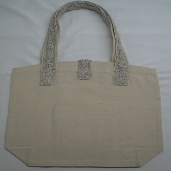 Cable 4 Shoulder Bag 371b Natural