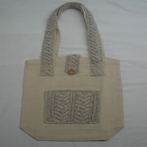 Cable 5 Shoulder Bag 372a Natural