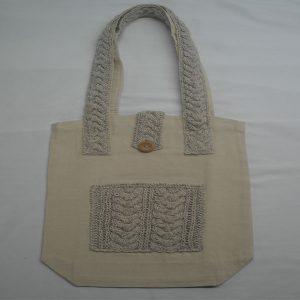 Cable 5 Shoulder Bag 372a Natural