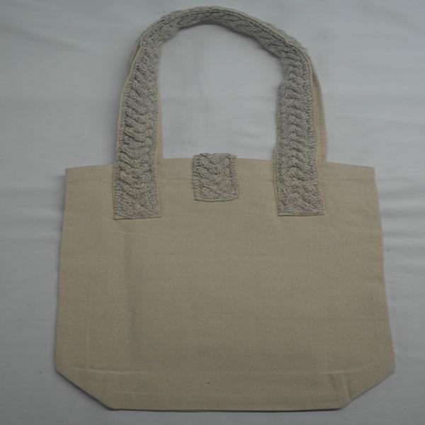 Cable 5 Shoulder Bag 372b Natural