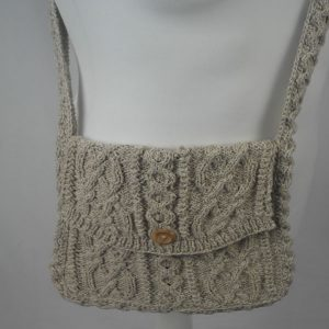 12K Aran Shoulder Bag 373b Natural