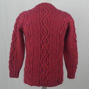 16I Tunic Roll Collar Sweater 381b Plum 7053