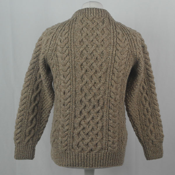 1A Country Meetings Crew Neck Sweater 379b Hemp Beige 10