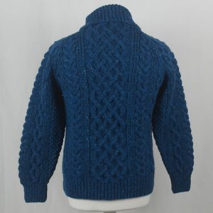 1A Country Meetings Roll Neck Sweater 388b Turquoise 7045