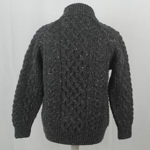 1A Country Meetings Roll Neck Sweater 390b Charcoal 7006
