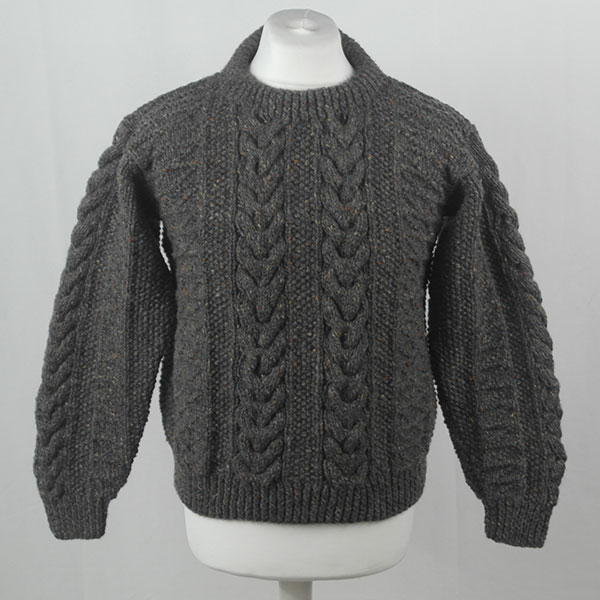1G Pegasus Crew Neck Sweater 382a Grey 7005
