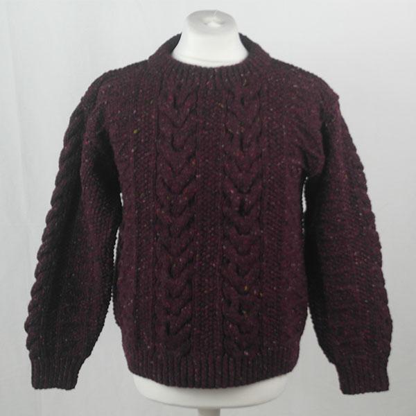 1G Pegasus Crew Neck Sweater 402a Mehroon 7014
