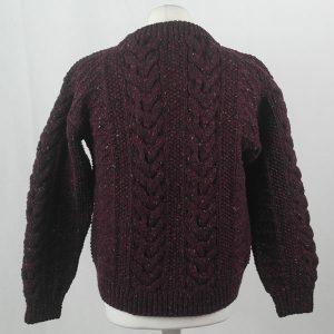1G Pegasus Crew Neck Sweater 402b Mehroon 7014