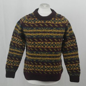 45D Allover Fairisle Crew 403a A