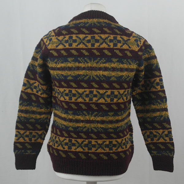 45D Allover Fairisle Crew 403b A