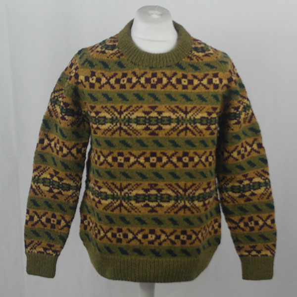 45D Allover Fairisle Crew 404a B