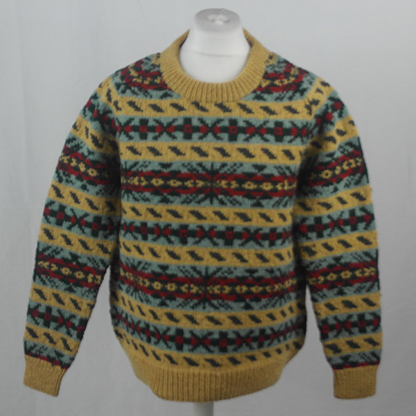 45D Allover Fairisle Crew 405a C