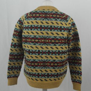 45D Allover Fairisle Crew 405b C