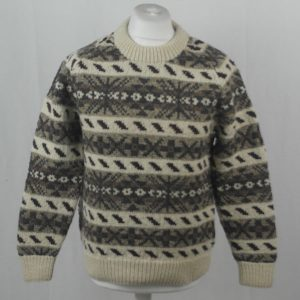 45D Allover Fairisle Crew 406a D