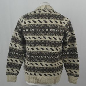 45D Allover Fairisle Crew 406b D