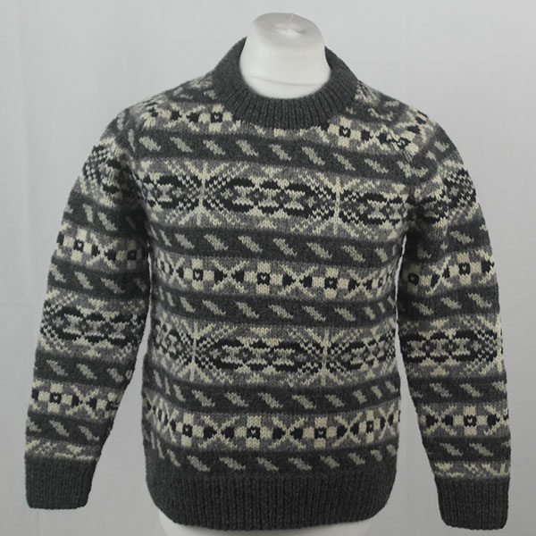 45D Allover Fairisle Crew 407a E