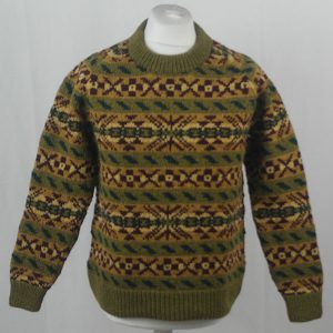 45D Allover Fairisle Crew 409a G