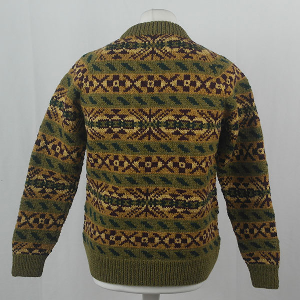 45D Allover Fairisle Crew 409b G