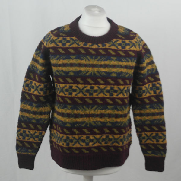 45D Allover Fairisle Crew 410a H
