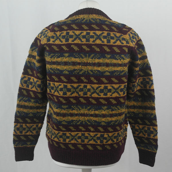 45D Allover Fairisle Crew 410b H