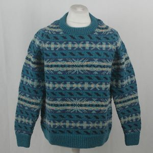 45D Allover Fairisle Crew 411a I