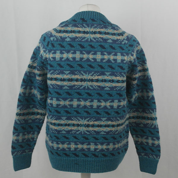 45D Allover Fairisle Crew 411b I