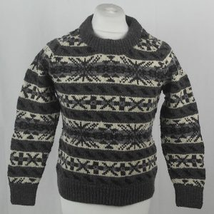 45D Allover Fairisle Crew 412a J