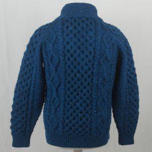 6A Shawl Collar Cardigan 392b Turquoise 7045