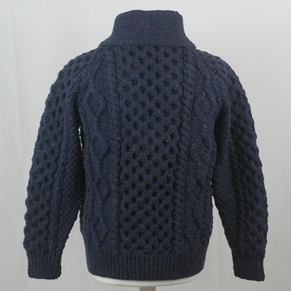 6A Shawl Collar Cardigan 396b Denim 7034