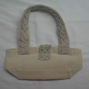 Cable 3 Shoulder Bag 366b Natural