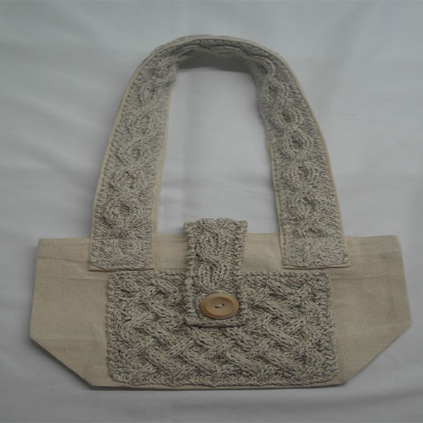 Trellis Shoulder Bag 368a Natural