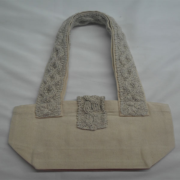 Trellis Shoulder Bag 368b Natural