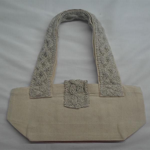 Trellis Shoulder Bag 368b Natural