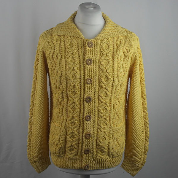 3A Lumber Cardigan 429a Yellow 509