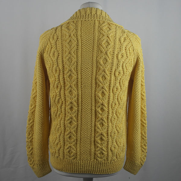 3A Lumber Cardigan 429b Yellow 509