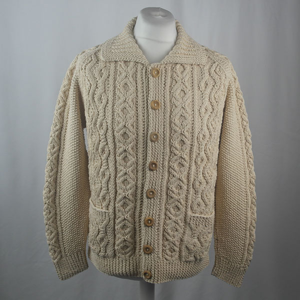 3A Lumber Cardigan 446a Natural