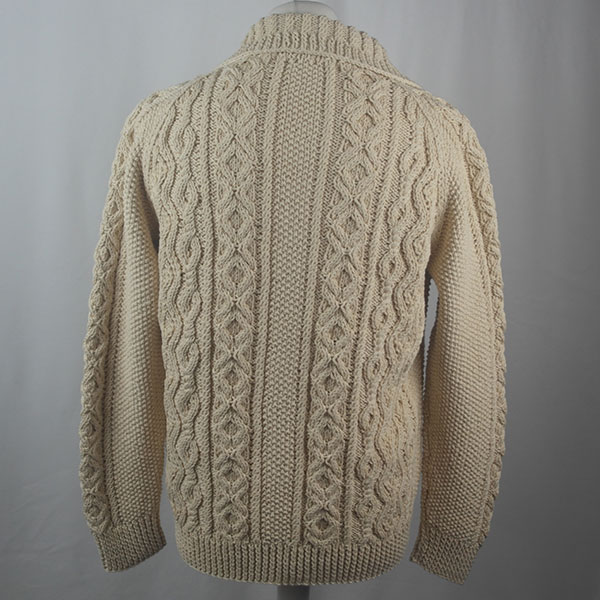 3A Lumber Cardigan 446b Natural