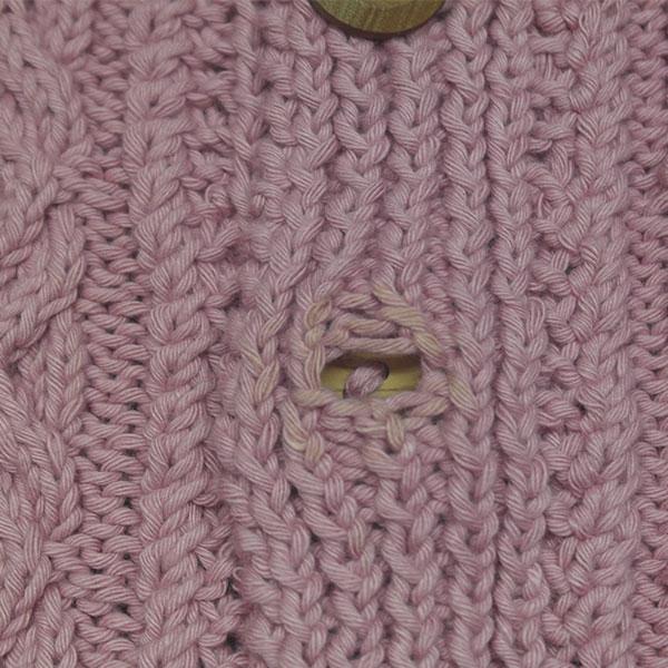 3A Lumber Cardigan 449d Soft Pink 513