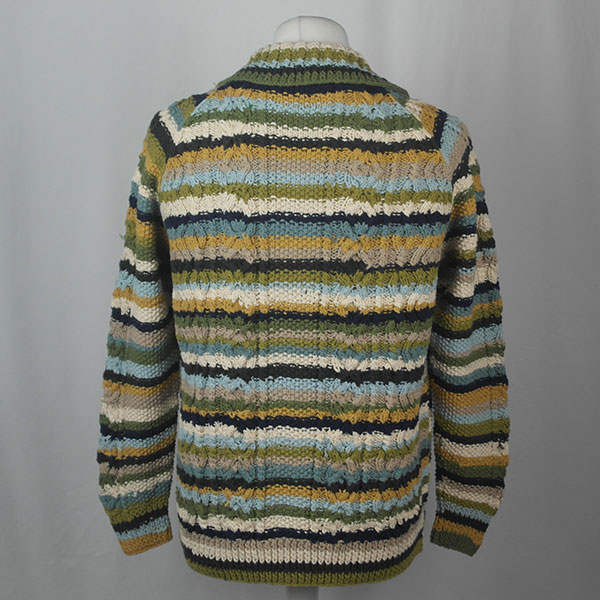 3A Ripple Lumber Cardigan 463b Assorted