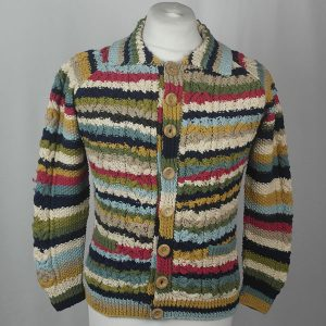 3A Ripple Lumber Cardigan 464a Assorted
