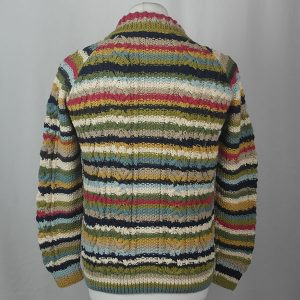 3A Ripple Lumber Cardigan 469b Assorted