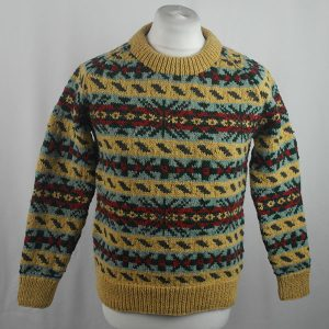 45D Allover Fairisle Crew 413a K