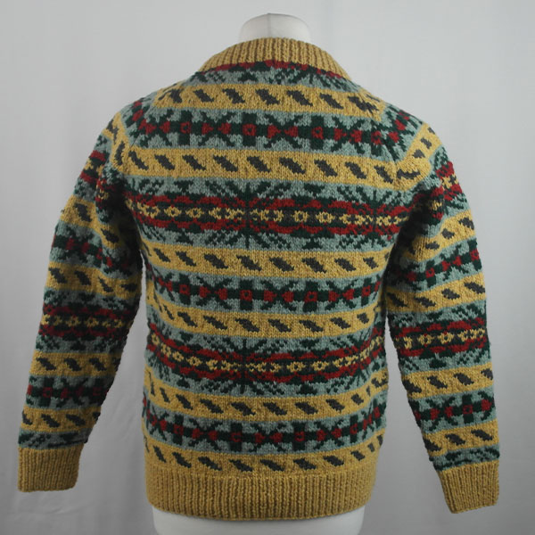 45D Allover Fairisle Crew 413b K